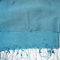Watersilk Pashmina (Teal) F96